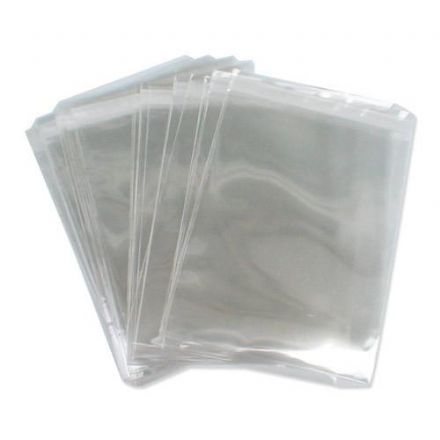 Polythene Bags 200g/50m<br>Size: 200x255mm<br>Pack of 1000